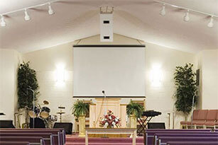 S F Glaser, Inc.'s Church Stage & Event Lighting Service